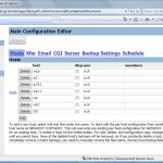 Main Configuration Editor - Hosts