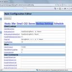 Main Configuration Editor - BS