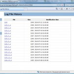 Log File History