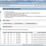 Host m2 Backup Summary