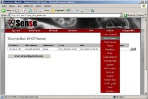 Просмотр и добавление DHCP записей
